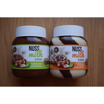 Шоколадная паста Nuss Milk молочно-ореховая (400 г)