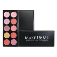 Профессиональная палитра помад для губ 10 цветов Make Up Me L10-3