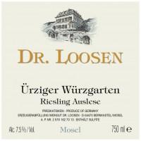 Вино Dr. Loosen Urziger Wurzgarten Riesling Auslese, 2007 (0,75 л)
