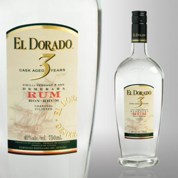 Ром El Dorado 3 Year Old + стакан (0,7 л)