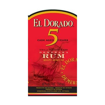 Ром El Dorado 5 Year Old  (0,7 л)