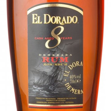 Ром El Dorado 8 Year Old (0,7 л)