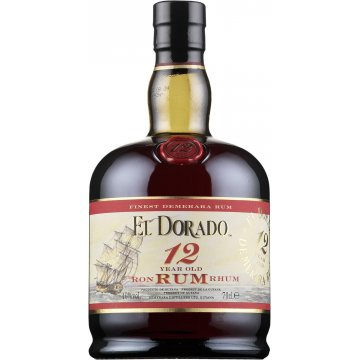 Ром El Dorado 12 Year Old, gift box (0,7 л)