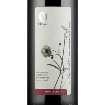 Вино Golan Heights Winery Sion Creek Red (0,75 л)