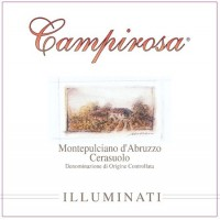 Вино Illuminati Dino Montepulciano d'Abruzzo Cerasuolo Campirosa (0,75 л)