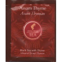 Премиальный черный чай с тимьяном Assam Thyme (25шт*1,75 г)