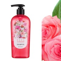 Шампунь с экстрактом лепестков роз Missha Natural Rose Vinegar (310 мл)