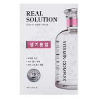 Маска для лица Missha Real Solution Tencel Sheet Mask Brightening