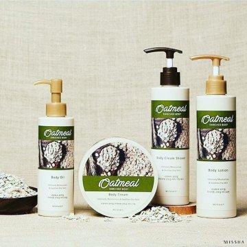 Масло для тела и лица Missha Oatmeal Enriched Body Oil (200 мл)