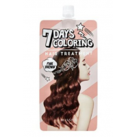 Тонирующая краска для волос Missha Seven Days Coloring Hair Treatment Red Orange