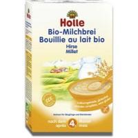 Каша молочная, злаковая с пшеном, органическая (с 4 месяцев) Holle, 250 г.