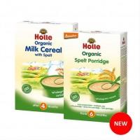 Каша молочная Holle злаковая со спельтой органическая, с 4 месяцев (250 г)
