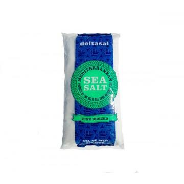 Морская соль Гурме йодированная, мелкий помол (1кг)