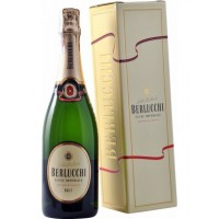 Игристое вино Guido Berlucchi Cuvee Imperiale Brut, gift box (0,75 л)
