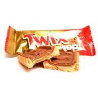 Шоколадный батончик Twix Top, 10 шт
