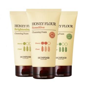 Освежающая пенка SkinFood Honey flour fresh cleansing foam (150 мл)