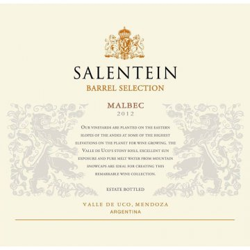 Вино Salentein Malbec Barrel Selection (0,75 л)