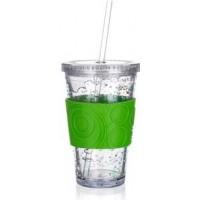 Пластиковая кружка Banquet Double, зеленая (450 мл)