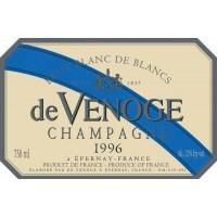Шампанское Champagne de Venoge Brut Blanc de Blancs, 1996 (0,75 л)