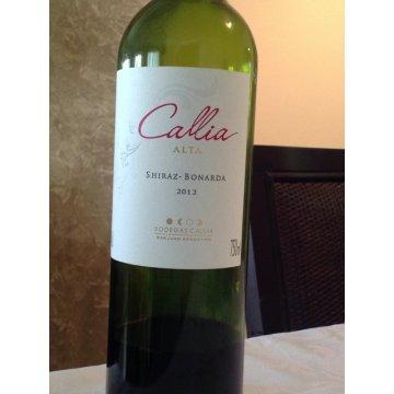 Вино Callia Alta Shiraz-Bonarda  (0,75 л)