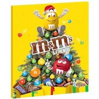 Шоколадный календарь M&Ms friends (361 г)