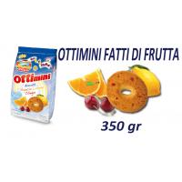Печенье Divella Ottimini Fatti di Frutta (350 г)