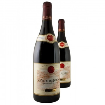 Вино E.Guigal Cotes-du-Rhone Rouge, 2015 (0,75 л)