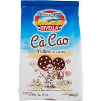 Печенье Divella Frollini Ca Cao Al Cacao (400 г)