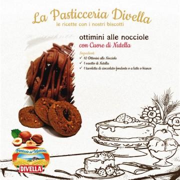 Печенье Divella Ottimini Alle Nocciole (350 г)