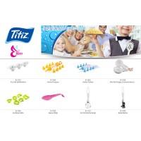 Подставка для ложки Titiz, розовая