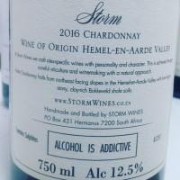 Вино Storm Chardonnay Vrede, 2016 (0,75 л)