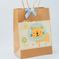 Подарочный пакет 26х20х10 см.- 9276 (Львёнок)