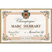 Шампанское Marc Hebrart Brut Blanc de Blancs Premier Cru (0,75 л)