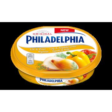 Сыр Philadelphia с луком, перцем и укропом (175 г)