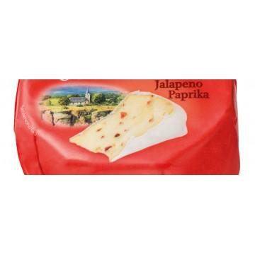 Сыр Coburger Bayerischer Weichkäse Jalapeno Paprika, 150 г