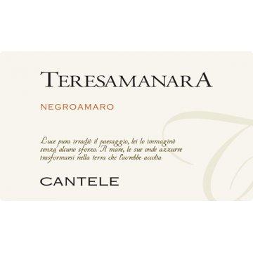 Вино Cantele Teresa Manara Negroamaro (0,75 л)
