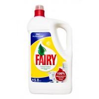 Жидкость для мытья посуды Fairy Lemon (5 л)