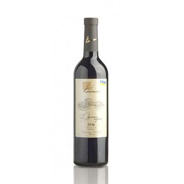 Вино Одеське чорное сортовое 2016 (0,75 л.)