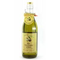 Оливковое масло Grezzona di Frantoio Extra Vergine di Oliva (нефильтрованное), 1л