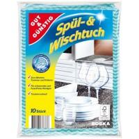 Салфетки для уборки Gut&Gusting Spul Wischtuch, 10 шт