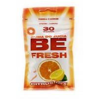 Жевательная резинка BE Fresh Citrus Mix, 42 г