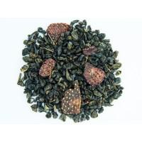 Чай Teahouse Земляника со сливками, зеленый (100 г)