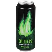 Энергетический напиток Burn Яблоко-Киви, 0.5 л