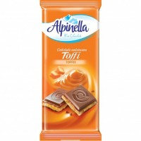 Шоколад Alpinella Toffi, 90 г