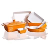 Форма керамическая универсальная Banquet Culinaria Orange (12,5х8,5 см)