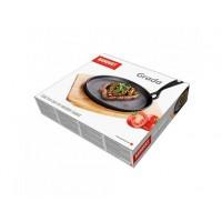 Сковорода порционная на деревянной подставке Banquet Grada (22 см)