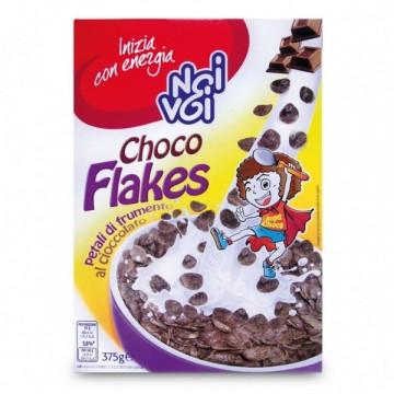 Кранчи Choco Flakers NOI&VOI, 375 г