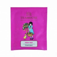 Чай Teahouse Свежий фрукт, пластиковая упаковка (25 шт по 2 г)