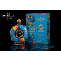 Текила Dos Armadillos Extra Anejo (Painted Clay), gift box (0,75 л)