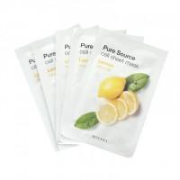 Увлажняющая тканевая маска Missha Pure Source Cell Sheet Mask Lemon